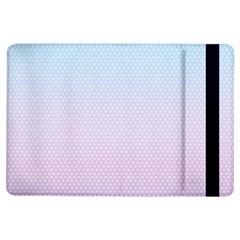 Simple Circle Dot Purple Blue Ipad Air Flip by Alisyart