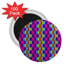 Background For Scrapbooking Or Other Patterned Wood 2 25  Magnets (100 Pack)