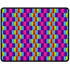 Background For Scrapbooking Or Other Patterned Wood Double Sided Fleece Blanket (medium)