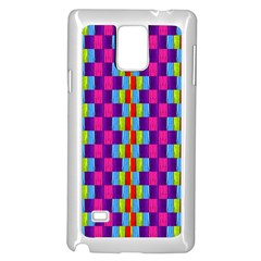 Background For Scrapbooking Or Other Patterned Wood Samsung Galaxy Note 4 Case (White)