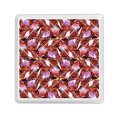 Background For Scrapbooking Or Other Shellfish Grounds Memory Card Reader (square)