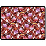 Background For Scrapbooking Or Other Shellfish Grounds Double Sided Fleece Blanket (Large)  80 x60 Blanket Back