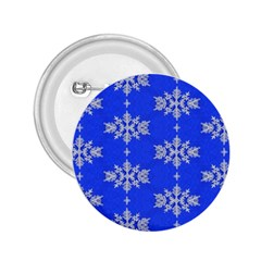 Background For Scrapbooking Or Other Snowflakes Patterns 2 25  Buttons