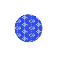 Background For Scrapbooking Or Other Snowflakes Patterns Golf Ball Marker (4 Pack)