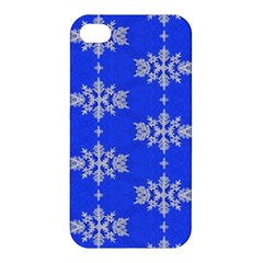 Background For Scrapbooking Or Other Snowflakes Patterns Apple Iphone 4/4s Hardshell Case
