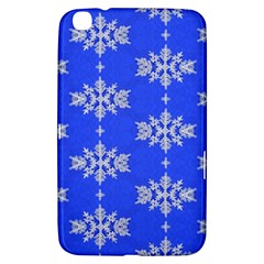Background For Scrapbooking Or Other Snowflakes Patterns Samsung Galaxy Tab 3 (8 ) T3100 Hardshell Case