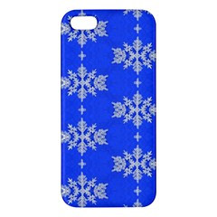 Background For Scrapbooking Or Other Snowflakes Patterns Iphone 5s/ Se Premium Hardshell Case