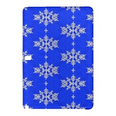 Background For Scrapbooking Or Other Snowflakes Patterns Samsung Galaxy Tab Pro 12 2 Hardshell Case by Nexatart