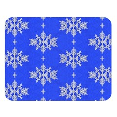 Background For Scrapbooking Or Other Snowflakes Patterns Double Sided Flano Blanket (large)  by Nexatart