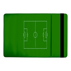 Soccer Field Football Sport Green Samsung Galaxy Tab Pro 10 1  Flip Case by Alisyart