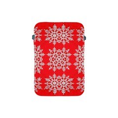 Background For Scrapbooking Or Other Stylized Snowflakes Apple Ipad Mini Protective Soft Cases