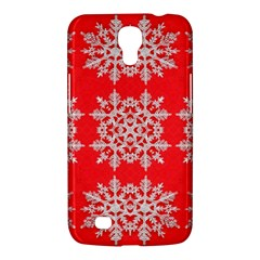 Background For Scrapbooking Or Other Stylized Snowflakes Samsung Galaxy Mega 6 3  I9200 Hardshell Case