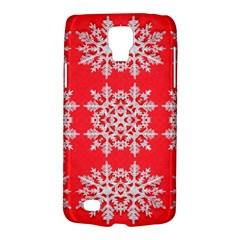 Background For Scrapbooking Or Other Stylized Snowflakes Galaxy S4 Active