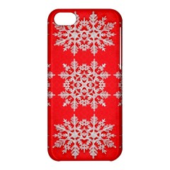 Background For Scrapbooking Or Other Stylized Snowflakes Apple Iphone 5c Hardshell Case
