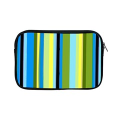Simple Lines Rainbow Color Blue Green Yellow Black Apple Ipad Mini Zipper Cases by Alisyart