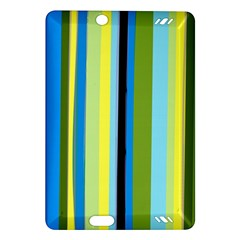 Simple Lines Rainbow Color Blue Green Yellow Black Amazon Kindle Fire Hd (2013) Hardshell Case by Alisyart