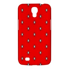 Simple Red Star Light Flower Floral Samsung Galaxy Mega 6 3  I9200 Hardshell Case