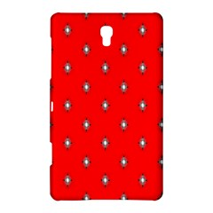 Simple Red Star Light Flower Floral Samsung Galaxy Tab S (8 4 ) Hardshell Case