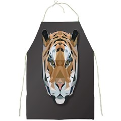 Tiger Face Animals Wild Full Print Aprons