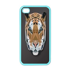 Tiger Face Animals Wild Apple Iphone 4 Case (color)