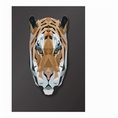 Tiger Face Animals Wild Small Garden Flag (two Sides)