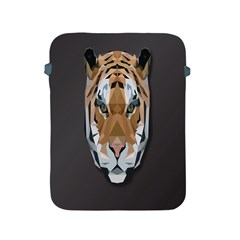 Tiger Face Animals Wild Apple Ipad 2/3/4 Protective Soft Cases