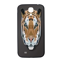 Tiger Face Animals Wild Samsung Galaxy S4 I9500/i9505  Hardshell Back Case by Alisyart