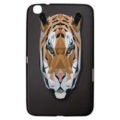 Tiger Face Animals Wild Samsung Galaxy Tab 3 (8 ) T3100 Hardshell Case