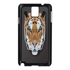 Tiger Face Animals Wild Samsung Galaxy Note 3 N9005 Case (black)