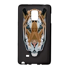 Tiger Face Animals Wild Galaxy Note Edge by Alisyart