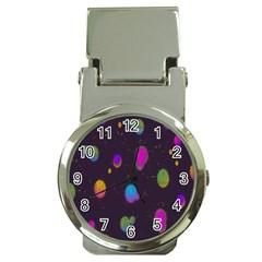 Spots Bright Rainbow Color Money Clip Watches