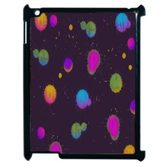 Spots Bright Rainbow Color Apple Ipad 2 Case (black)