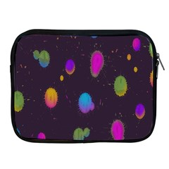 Spots Bright Rainbow Color Apple Ipad 2/3/4 Zipper Cases