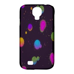 Spots Bright Rainbow Color Samsung Galaxy S4 Classic Hardshell Case (pc+silicone)