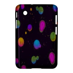 Spots Bright Rainbow Color Samsung Galaxy Tab 2 (7 ) P3100 Hardshell Case