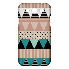 Triangle Wave Chevron Grey Samsung Galaxy Mega 5 8 I9152 Hardshell Case