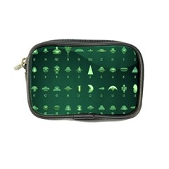 Ufo Alien Green Coin Purse