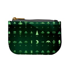 Ufo Alien Green Mini Coin Purses