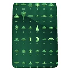 Ufo Alien Green Flap Covers (s)