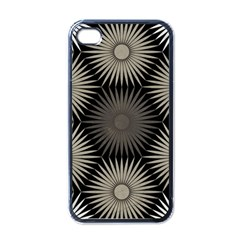 Sunflower Black White Apple Iphone 4 Case (black)