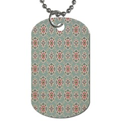 Vintage Floral Tumblr Quotes Dog Tag (two Sides) by Alisyart