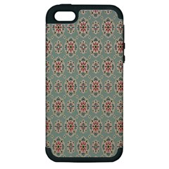 Vintage Floral Tumblr Quotes Apple Iphone 5 Hardshell Case (pc+silicone) by Alisyart