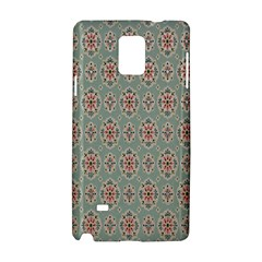 Vintage Floral Tumblr Quotes Samsung Galaxy Note 4 Hardshell Case by Alisyart