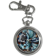 Light Color Floral Grey Key Chain Watches by Alisyart