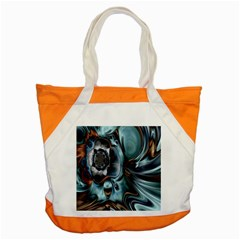 Light Color Floral Grey Accent Tote Bag by Alisyart