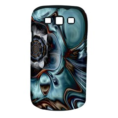Light Color Floral Grey Samsung Galaxy S Iii Classic Hardshell Case (pc+silicone) by Alisyart