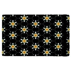 Background For Scrapbooking Or Other With Flower Patterns Apple Ipad 3/4 Flip Case