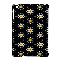 Background For Scrapbooking Or Other With Flower Patterns Apple Ipad Mini Hardshell Case (compatible With Smart Cover) by Nexatart