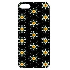 Background For Scrapbooking Or Other With Flower Patterns Apple Iphone 5 Hardshell Case With Stand