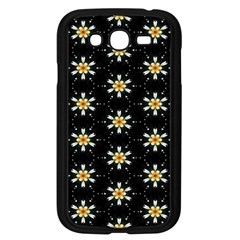 Background For Scrapbooking Or Other With Flower Patterns Samsung Galaxy Grand Duos I9082 Case (black)
